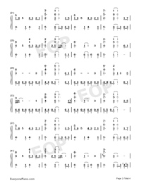 I Want It That Way-Numbered-Musical-Notation-Preview-2