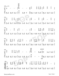 Lilac - Lei Tang-Numbered-Musical-Notation-Preview-3