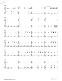 A Thousand Years-Breaking Dawn OST-Numbered-Musical-Notation-Preview-2