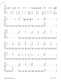 A Thousand Years-Breaking Dawn OST-Numbered-Musical-Notation-Preview-3