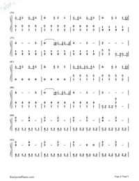 A Thousand Years-Breaking Dawn OST-Numbered-Musical-Notation-Preview-4