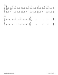Just The Way You Are-Bruno Mars-Numbered-Musical-Notation-Preview-5