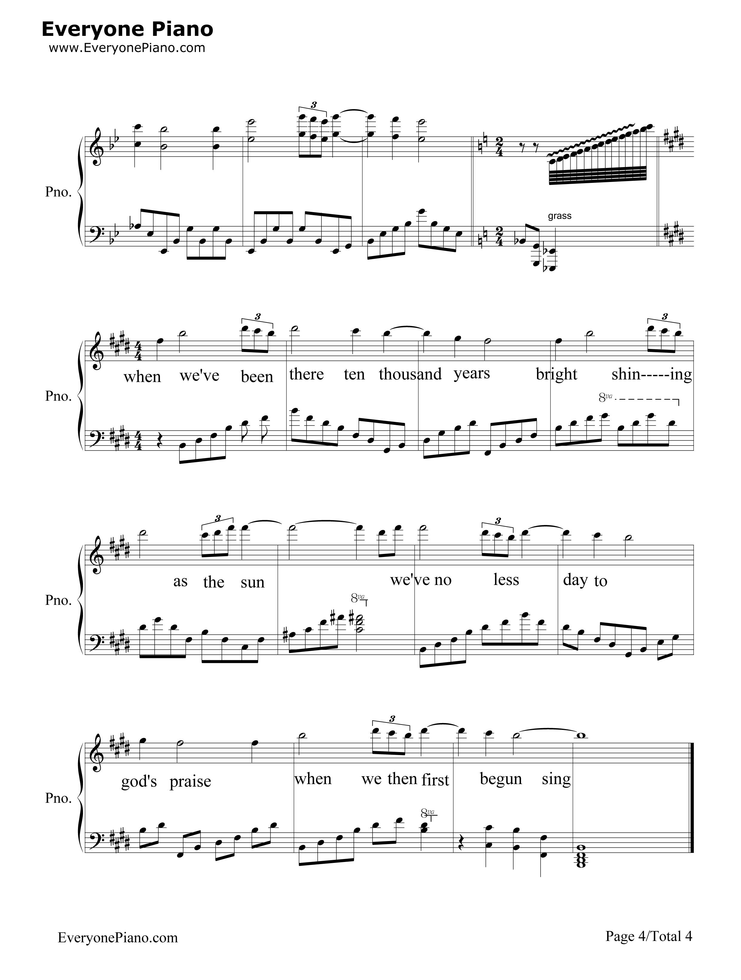 Amazing grace sheet music free amazing grace sheet music