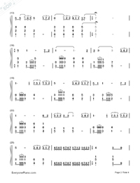 Time to Say Goodbye-Con te partirò-Numbered-Musical-Notation-Preview-2