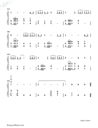 Time to Say Goodbye-Con te partirò-Numbered-Musical-Notation-Preview-4