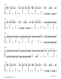 Croatian Rhapsody-Maksim Mrvica-Numbered-Musical-Notation-Preview-4
