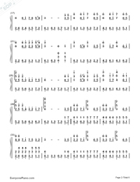The Valley of the Wind-Numbered-Musical-Notation-Preview-2