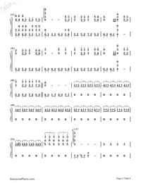 The Valley of the Wind-Numbered-Musical-Notation-Preview-3