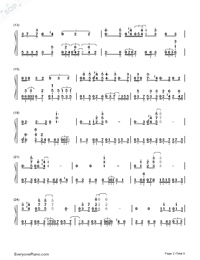 Get Lucky-Daft Punk-Numbered-Musical-Notation-Preview-2