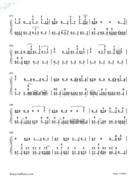 Get Lucky-Daft Punk-Numbered-Musical-Notation-Preview-3