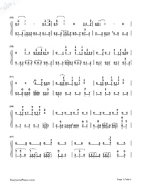 Get Lucky-Daft Punk-Numbered-Musical-Notation-Preview-5