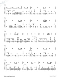 Get Lucky-Daft Punk-Numbered-Musical-Notation-Preview-6