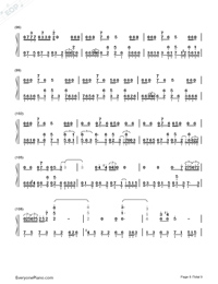 Get Lucky-Daft Punk-Numbered-Musical-Notation-Preview-8
