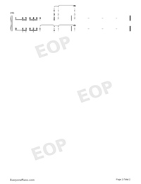 Xinwen Lianbo ED-News Simulcast ED-Numbered-Musical-Notation-Preview-2