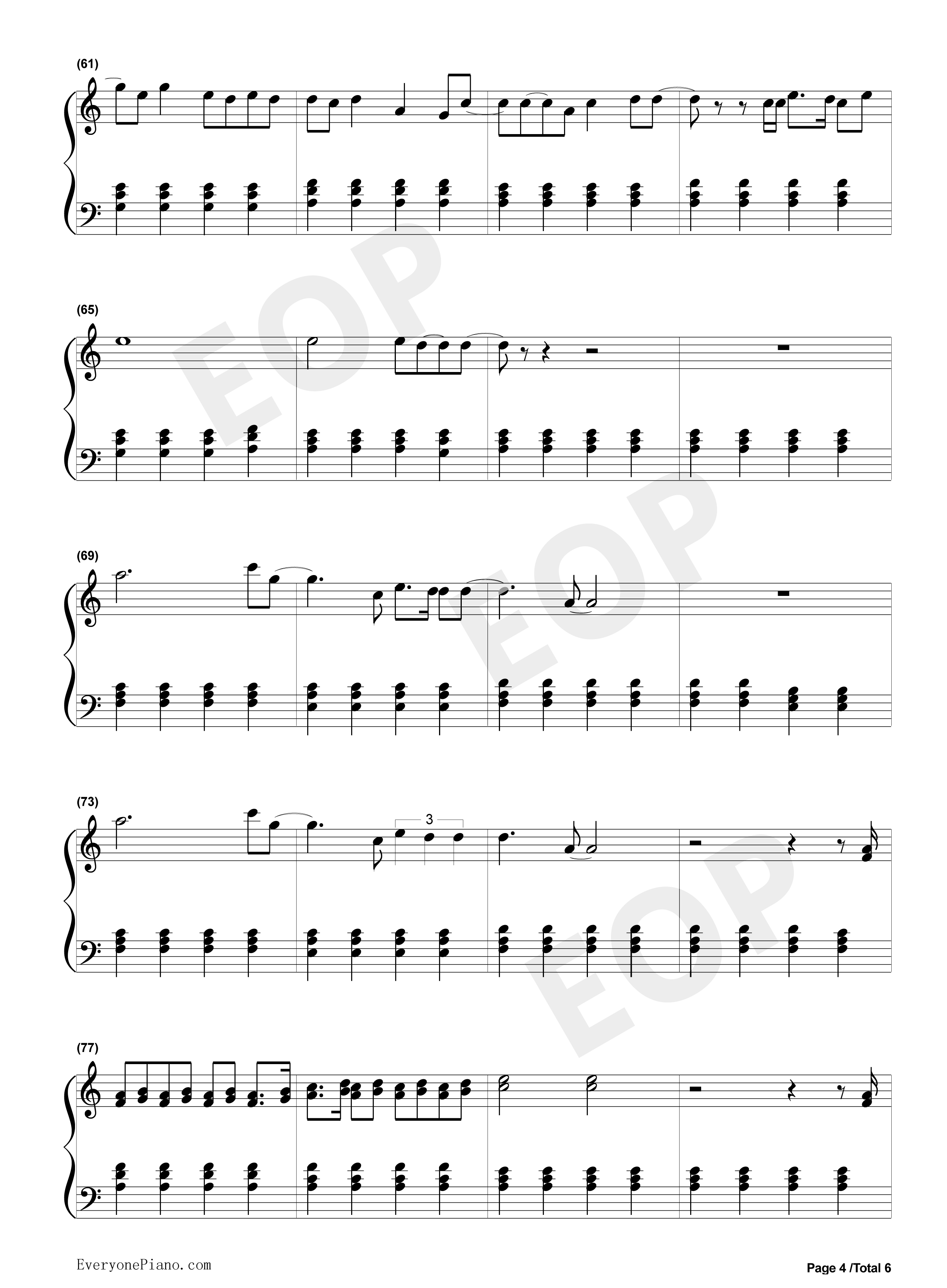 Stay rihanna mikky ekko stave preview 4 free piano sheet music listen now print sheet stay rihanna mikky ekko stave preview 4 hexwebz Images