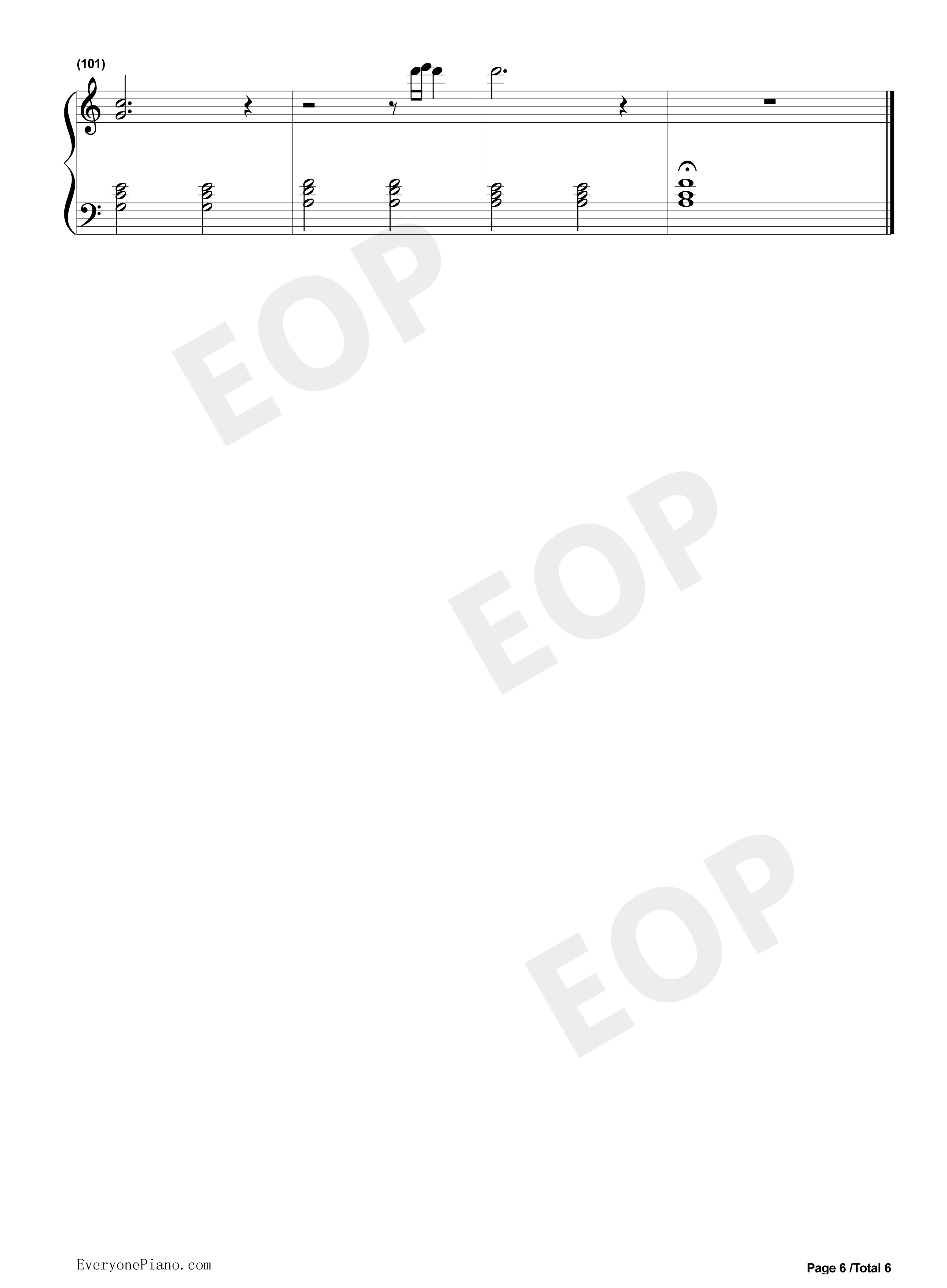 Stay rihanna mikky ekko stave preview 6 free piano sheet music listen now print sheet stay rihanna mikky ekko stave preview 6 hexwebz Image collections