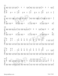 Wedding Dress Taeyang Numbered Musical Notation Preview 1 Free