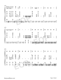 Lugou Ballad-Numbered-Musical-Notation-Preview-2