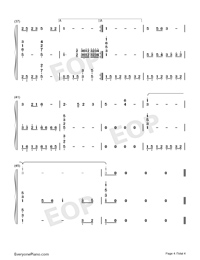 Lugou Ballad-Numbered-Musical-Notation-Preview-4
