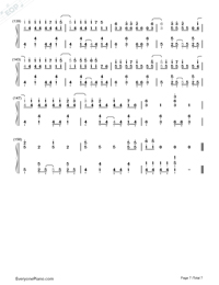 Rolling Girl-Hatsune Miku-Numbered-Musical-Notation-Preview-7
