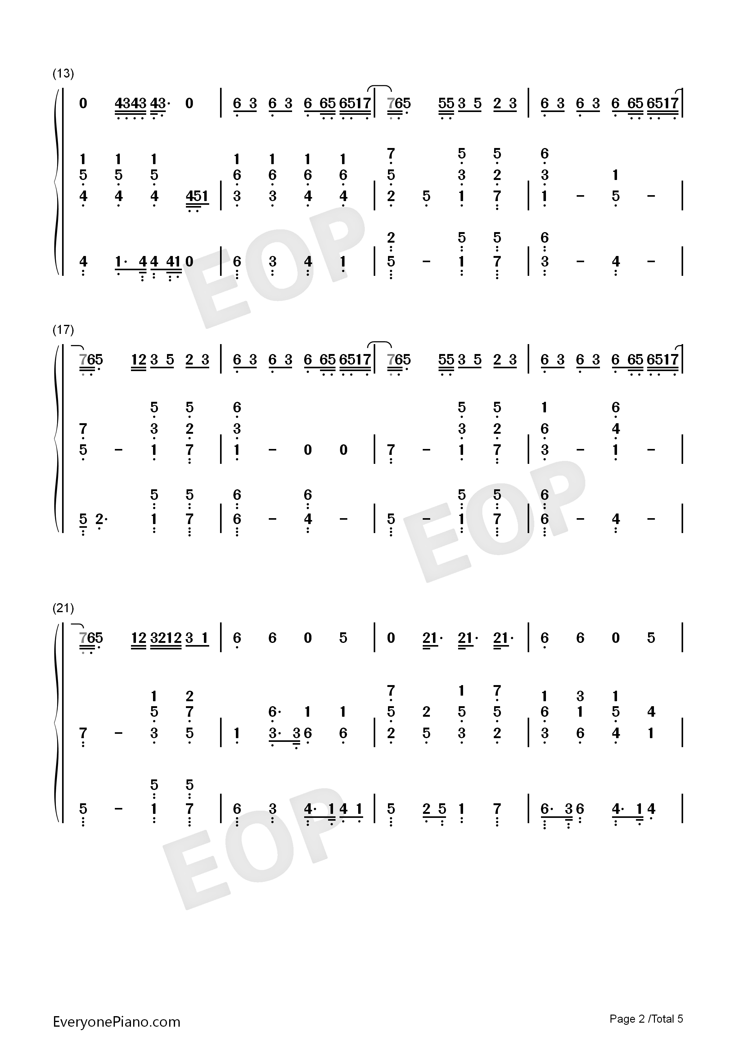 I knew you were trouble taylor swift numbered musical notation listen now print sheet i knew you were trouble taylor swift numbered musical notation preview 2 hexwebz Images