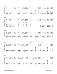 Yume to Hazakura-Numbered-Musical-Notation-Preview-3