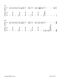Yume to Hazakura-Numbered-Musical-Notation-Preview-4