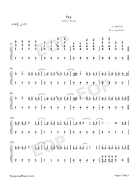 Try-Asher Book-Numbered-Musical-Notation-Preview-1