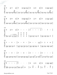 Red Maple Time and Again-Numbered-Musical-Notation-Preview-4