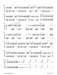 Longing/Love - George Winston Numbered Musical Notation Preview 2