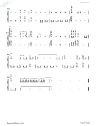 Eyes on Me - Final Fantasy VIII ED-Numbered-Musical-Notation-Preview-4