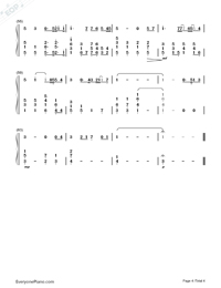 You Raise Me Up-Westlife-Numbered-Musical-Notation-Preview-4
