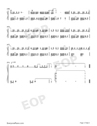 Sign Language - Opus 12-Numbered-Musical-Notation-Preview-3