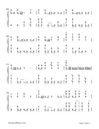 Senbonzakura-Marasy-Dynamic Version-Numbered-Musical-Notation-Preview-6