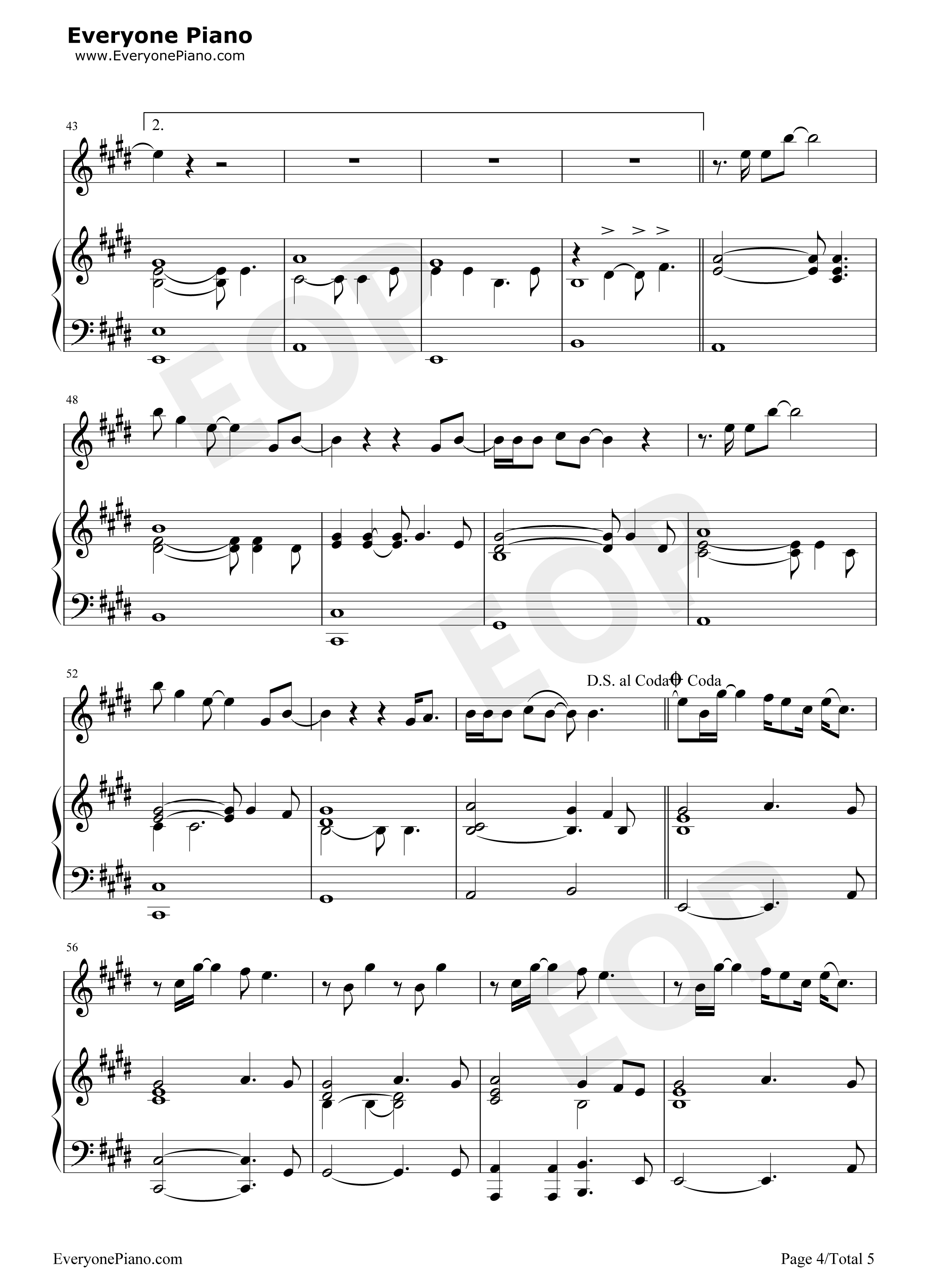 Goodbye my lover chord james blunt stave preview 4 free piano listen now print sheet goodbye my lover chord james blunt stave preview 4 hexwebz Image collections
