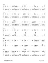 Paranoia - Hatsune Miku-Numbered-Musical-Notation-Preview-3
