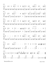 Paranoia - Hatsune Miku-Numbered-Musical-Notation-Preview-4