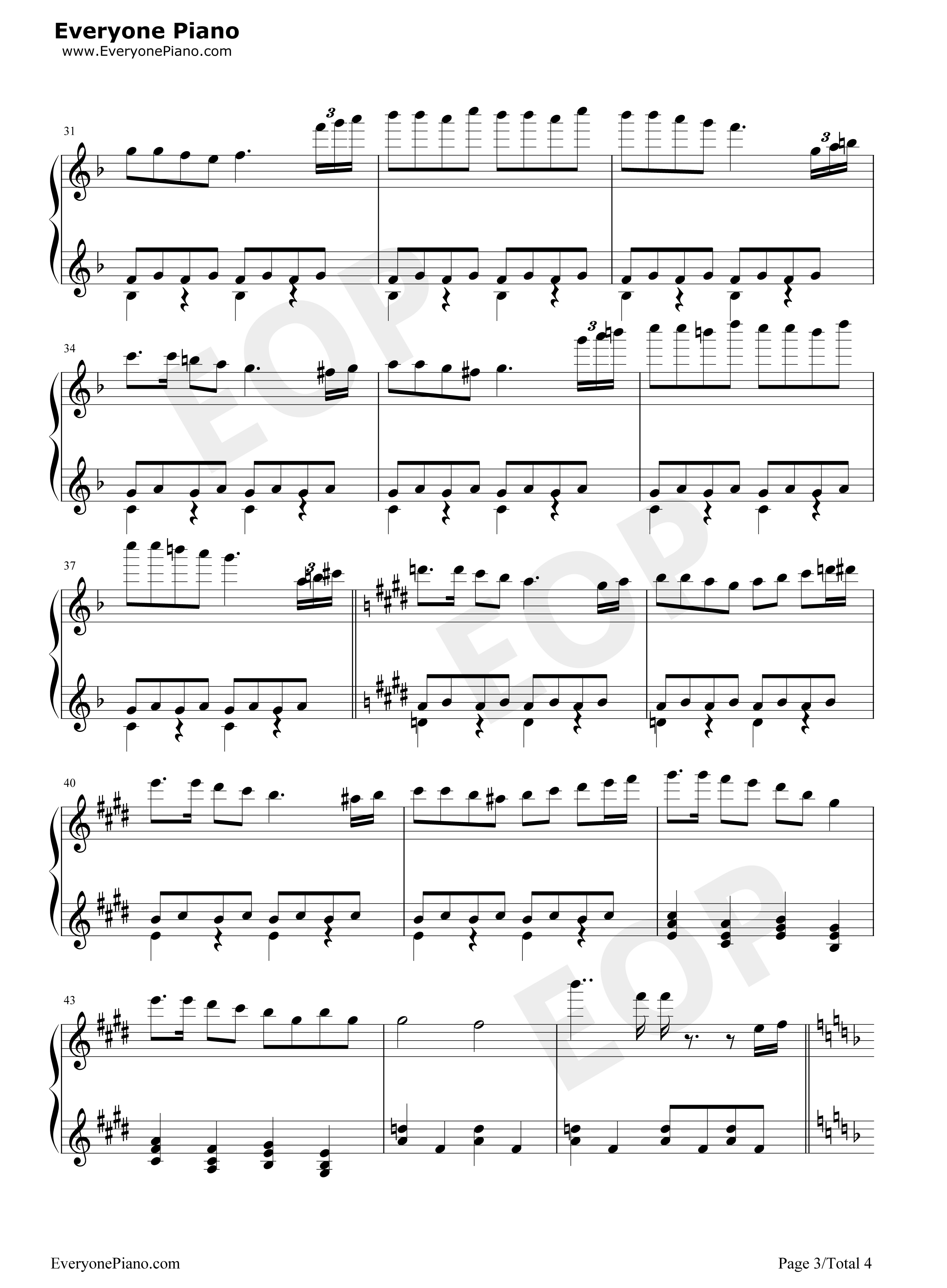 the crystal shardkirby 64 stave preview 3 free piano