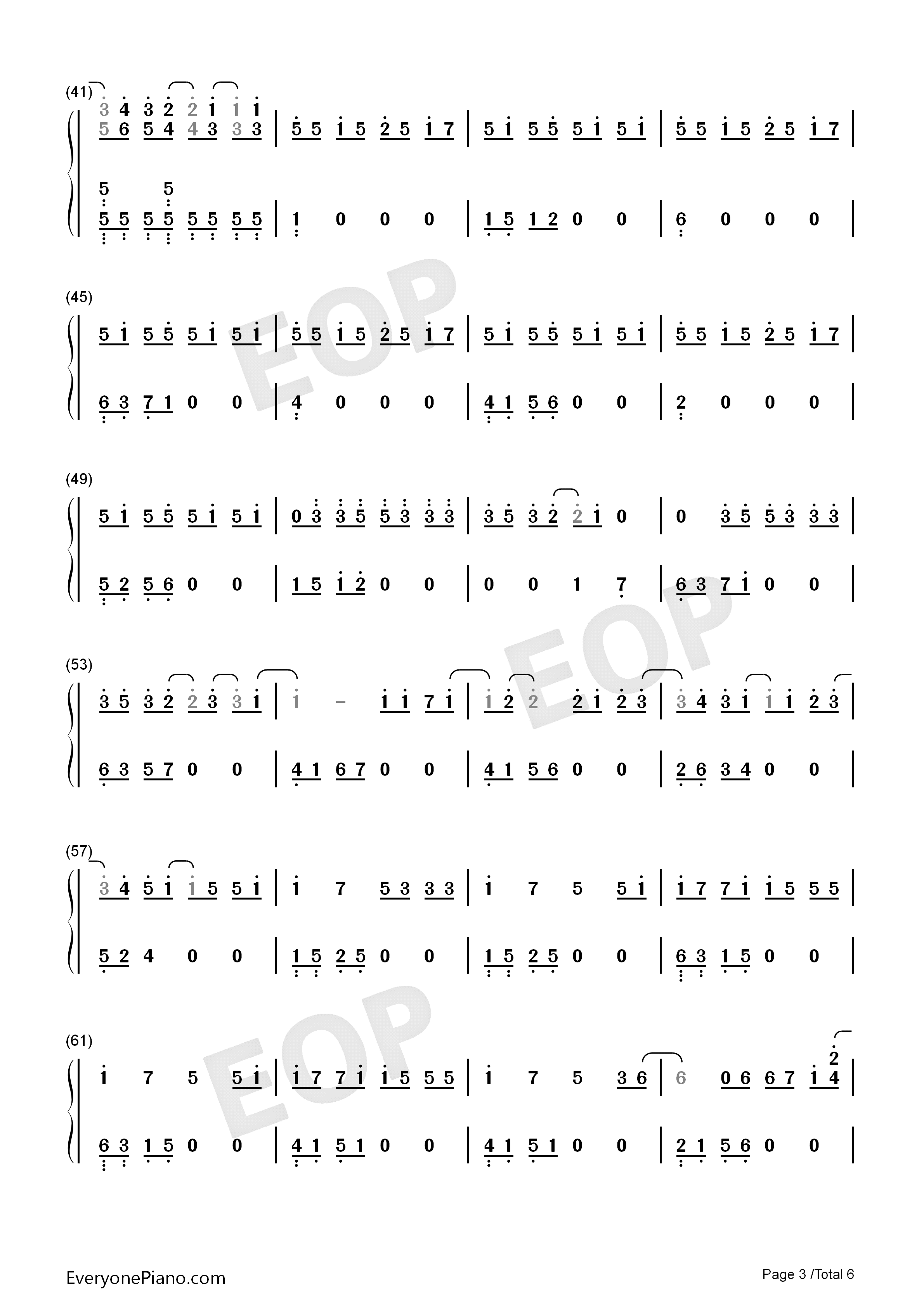 Peter pan exo numbered musical notation preview 3 free piano listen now print sheet peter pan exo numbered musical notation preview 3 hexwebz Images