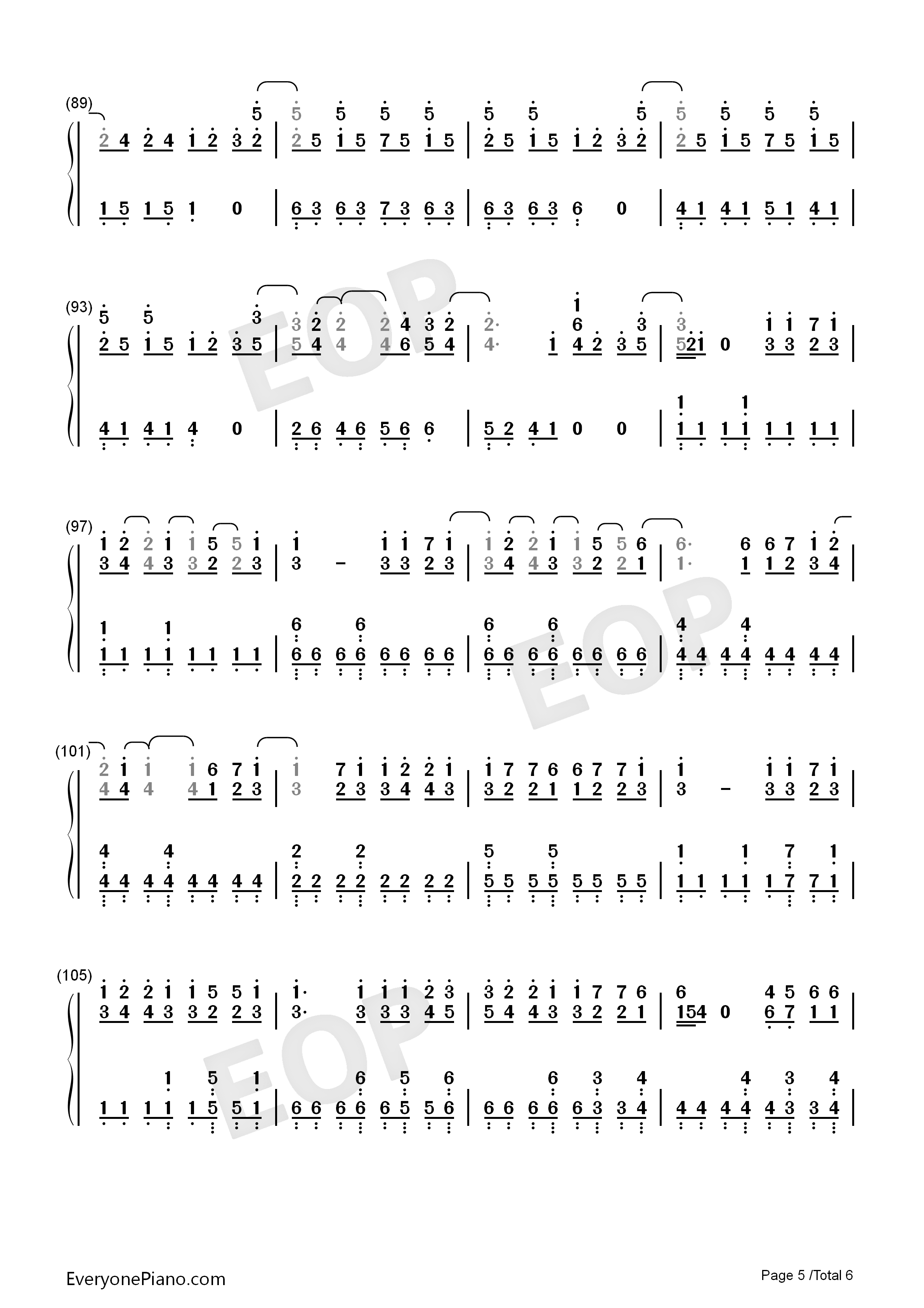 Peter pan exo numbered musical notation preview 5 free piano listen now print sheet peter pan exo numbered musical notation preview 5 hexwebz Images