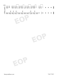 Peter Pan-EXO-Numbered-Musical-Notation-Preview-6