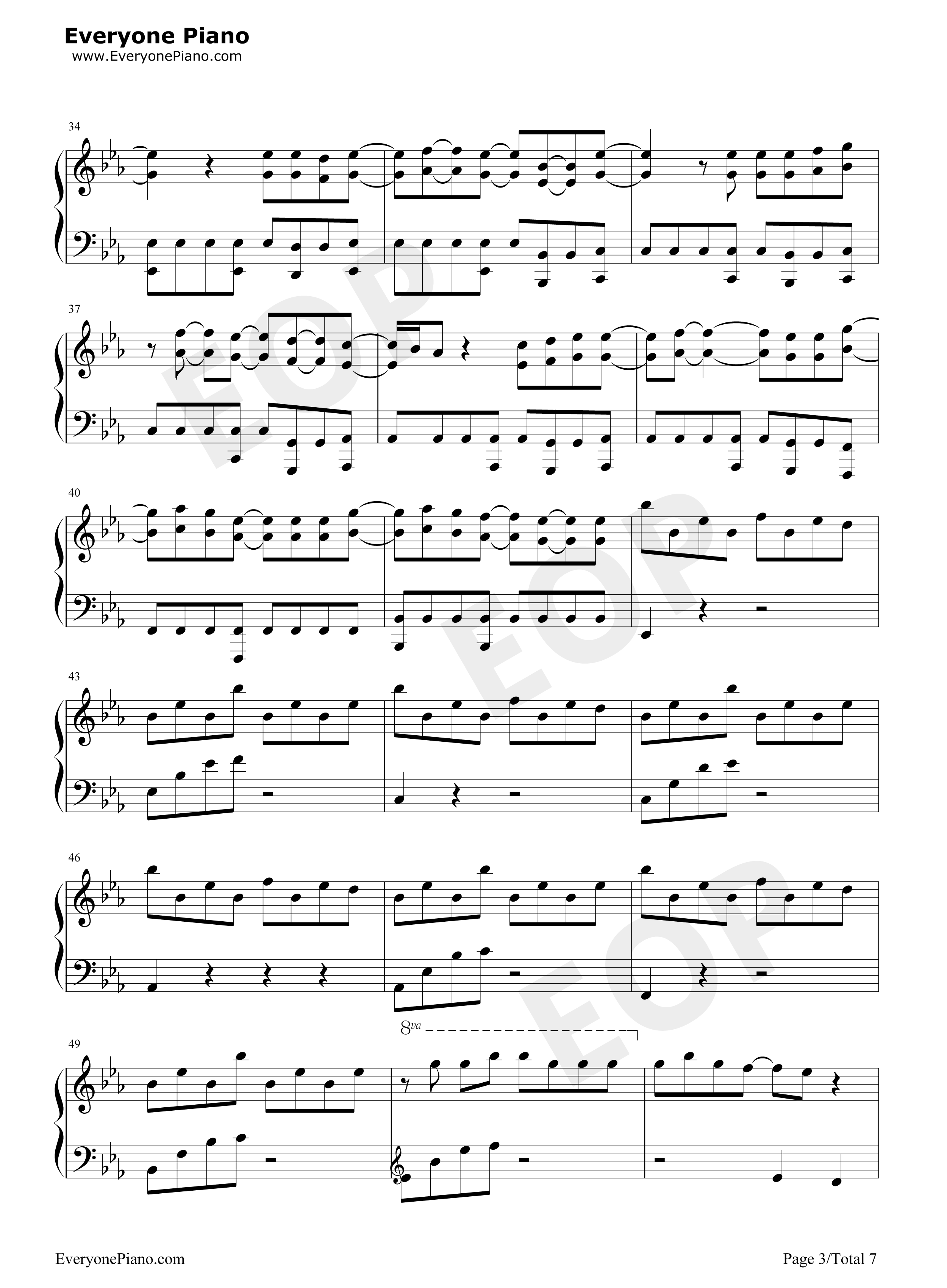 Peter pan exo stave preview 3 free piano sheet music piano chords listen now print sheet peter pan exo stave preview 3 hexwebz Images