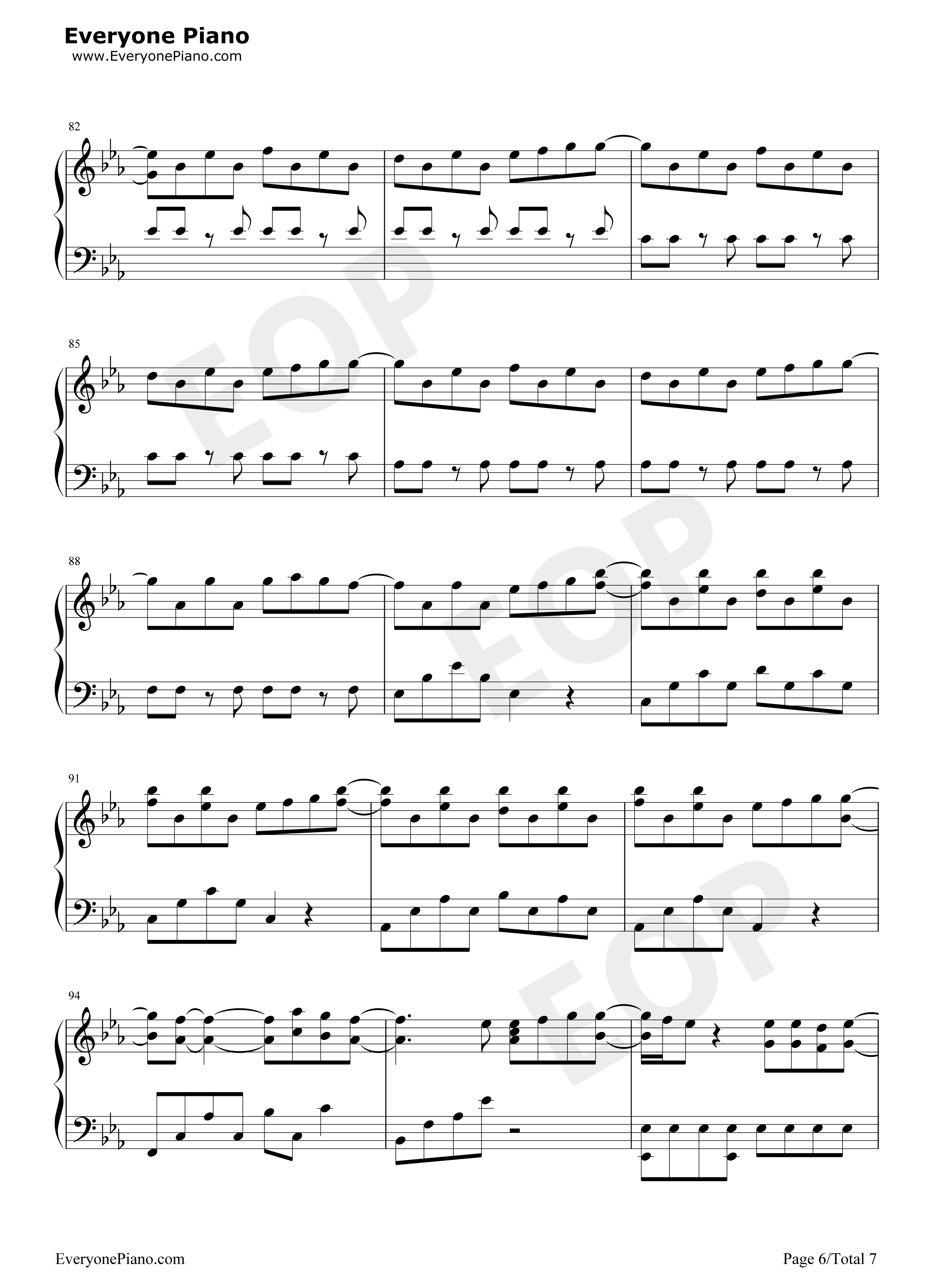 Peter pan exo stave preview 6 free piano sheet music piano chords listen now print sheet peter pan exo stave preview 6 hexwebz Images
