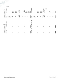 The Wind of Life - Joe Hisaishi-Numbered-Musical-Notation-Preview-6