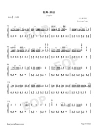 Jiggle-Original Music-Numbered-Musical-Notation-Preview-1
