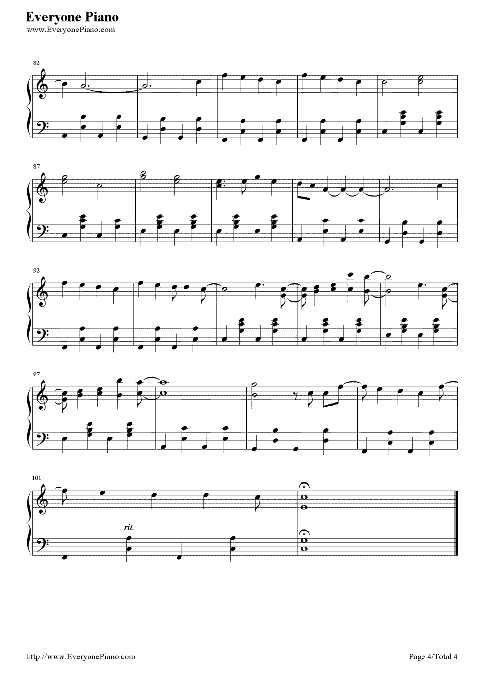 Count on me bruno mars stave preview 4 free piano sheet music listen now print sheet count on me bruno mars stave preview 4 hexwebz Image collections