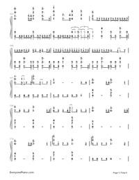 Uta ni Katachi wa Nai Keredo - Hatsune Miku-Numbered-Musical-Notation-Preview-5