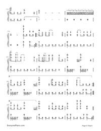Uta ni Katachi wa Nai Keredo - Hatsune Miku-Numbered-Musical-Notation-Preview-6