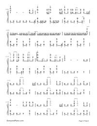 Uta ni Katachi wa Nai Keredo - Hatsune Miku-Numbered-Musical-Notation-Preview-8