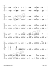 How Many Good Sisters Do You Have-Numbered-Musical-Notation-Preview-2